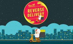 """""""Delivery Reverso"""" permite que pessoas doem alimentos sem saírem de casa"""