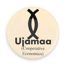 Nguzo Gaza - Principle Four Ujamaa (Cooperative Economics): To build and maintain our own stores, shops, and other businesses and to profit from them together. Days Of Kwanzaa, Happy Kwanzaa, Nguzo Saba, Cooperative Economics, Kwanzaa Principles, Funny Buttons, African American Culture, Fabric Journals, Custom Buttons