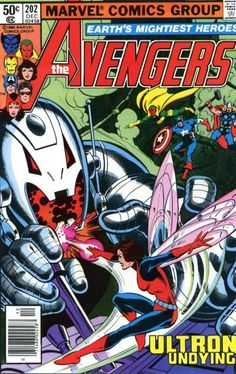 Cover for The Avengers (Marvel, 1963 series) #202 [Direct Edition]