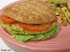 Nice Burger For Healthy