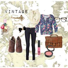 """""""Vintage is Love"""" by macbarbie07 on Polyvore"""