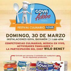 Festival Culinario Goya 2014 #sondeaquipr #festivalculinariogoya #goya #bayamon