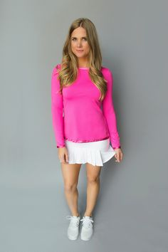 FlirTee Golf Front/Back Pleated Skirt - Available in 3 Colors!