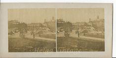 Antique stereo photo/stereoview unknown cityscape,horses, chariots,bridge 1800s' Vintage Photos, Bridge, Horses, Antiques, Painting, Ebay, Art, Antiquities, Art Background