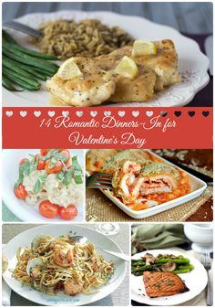 14 Romantic Dinners-In For Valentine's Day via thefrugalfoodiemama.com