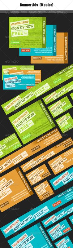 New web Banner Ads - GraphicRiver Item for Sale