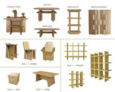 Chairigami cardboard chair For the Home Pinterest Chairs and