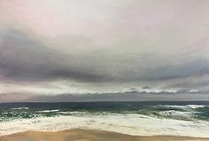 """Jeanne Rosier Smith ~ """"Sea Squall"""" ~ Pastel 27 x 40"""