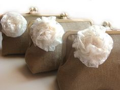 Rustic Fall Wedding  Bridesmaid Gifts  by loliscreations on Etsy, $58.00