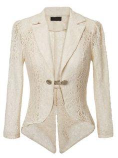 Cheap Fashion Blazers for Women Online Shopping Lace Blazer, Blazer Jacket, Blazers For Women, Suits For Women, Blazer Fashion, Fashion Outfits, Professional Wear, Summer Jacket, Office Fashion