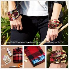DIY – Plaid Shirt Cuff