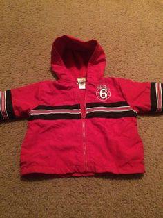 Kidgets Red Black White All Star 6 Hoodie Size 2T   eBay