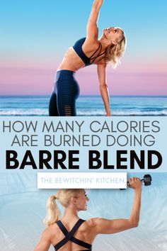 Barre Blend Calorie Burn: If you want to know the calories burned during Barre Blend check out this post. Barre Blend is the newest fitness program from Beachbody On Demand and is intense and low impact. Fitness Workout For Women, Health And Fitness Tips, Fitness Blogs, Health Tips, Burn Calories, Calories Burned, 21 Day Fix Workouts, Yoga Workouts, Recovery Food