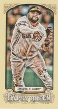 2014 Gypsy Queen Mini Box Variations #232 Pablo Sandoval San Francisco Giants