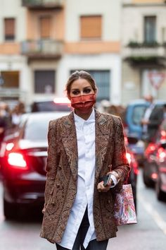 Olivia Palermo Lookbook, Olivia Palermo Style, Fashion 2020, High Fashion, Style Icons Inspiration, Airport Style, Fashion Plates, Color Trends, Autumn Winter Fashion