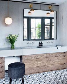Love this Primrose Hill, London bathroom I found on Pinterest via style-files.com, beautiful details!  #checkmypinterest #designinspiration #interiordesign