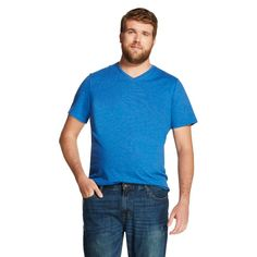Men's Big & Tall V-Neck T-Shirt