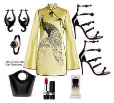 Fun Fashions by niccicollins on Polyvore featuring polyvore fashion style Attico Elizabeth and James Bulgari Christian Louboutin clothing