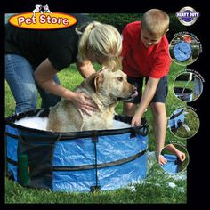 Outdoor Pet Bath Or Pool, now featured on Fab.  $28.00