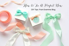 DIY Tips: How To Tie A Perfect Bow - Evermine Occasions