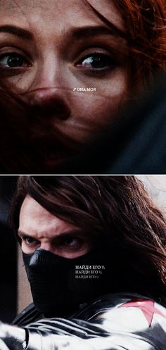 "Black Widow + The Winter Soldier: ""she is mine."" OH MY GOSSH WHY WITH THE FEELS"
