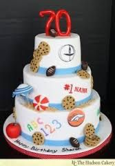 Image result for 70th cake