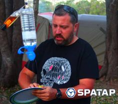 SpaTap Gallery - Camp Shower- Eco Friendly Water Saving SpaTap Camp Shower