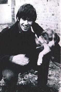 Keith Richards & friend