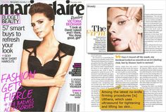 Marie Claire | November 2011. #ultherapy  If its in every fashion and beauty magazine, it def has merit!!!