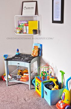 Little play corner for the family room. | Misc. Home Stuff ...