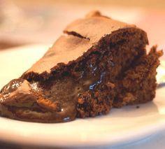 pão-de-ló de chocolate