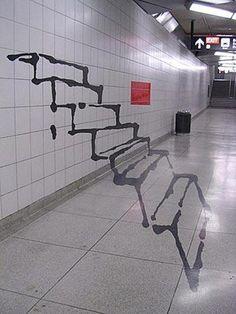 Απιστευτο γκραφιτι