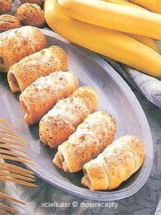 Cukrovi na Vanoce: Banánové kremrole