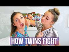 How Twins Fight | Brooklyn and Bailey - YouTube