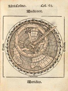 "Peter Apianus: ""Cosmographicus liber"" (1524). Esto hay que estudiarlo."