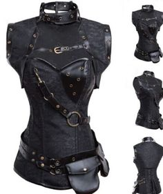 Looking for Charmian Women's Steampunk Spiral Steel Boned Vintage Retro Corset Tops Bustier ? Check out our picks for the Charmian Women's Steampunk Spiral Steel Boned Vintage Retro Corset Tops Bustier from the popular stores - all in one. Moda Steampunk, Costume Steampunk, Steampunk Outfits, Gothic Outfits, Steampunk Clothing, Gothic Steampunk, Gothic Clothing, Steampunk Armor, Jane Clothing