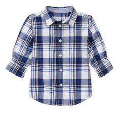 NWT Gymboree SPRING PREP, Plaid Shirt   Available in our online store at http://stores.ebay.com/starbabydesignshomestore