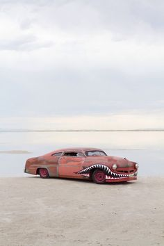 ok, ok we do not allow cars on the beach here anymore, but thought this was a great shot and wanted to share