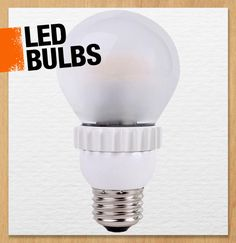 LED bulbs are a great alternative to incandescents because they can last in some cases up to 20 years. LED bulbs also use significantly less energy than traditional bulbs. #101