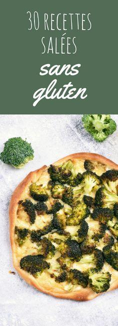 Pizzas, tartes, salades : 30 recettes faciles sans gluten !
