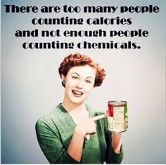 Nutrition Matters There are too many people counting calories and not enough people counting chemicals. Health And Nutrition, Health Tips, Health And Wellness, Health Fitness, Nutrition Tips, True Health, Nutrition Classes, Fitness Humor, Holistic Nutrition