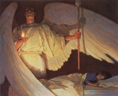 Thomas Blackshear | African-American Visionary painter | The Watcher