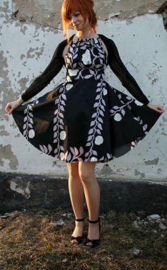 handmade womans partydress
