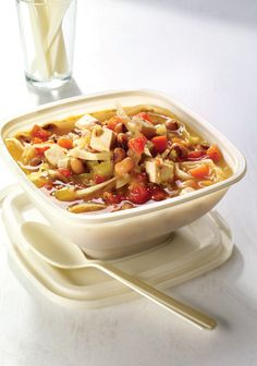 healthy meals with chicken and vegetables nutrition information sheet Healthy Meals For One, Healthy Pasta Recipes, Image Healthy Food, Quick Meals, Quinoa, Crockpot, Recipes Breakfast Video, Sweet Potato Protein, Protein Packed Breakfast