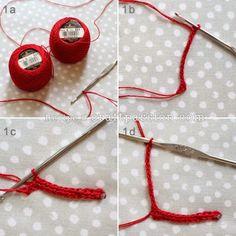 Porta guardanapos - flor de natal em crochê
