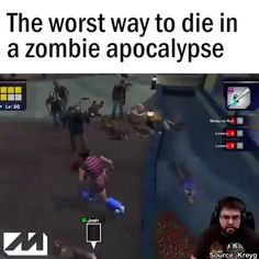 1000 ways to die in the apocalypse. 1000 Ways To Die, Win Win Situation, What Can I Do, Deceit, Funny Clips, Funny Relatable Memes, Best Funny Pictures, Apocalypse, I Laughed