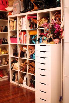 Closet organization. Love this!