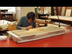 The Art and Science of Conservation: Behind the Scenes at the Freer Gallery of Art - Emily Jacobson, Paper Conservator