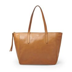 Fossil Sydney Shopper| FOSSIL® Not sure if I like it more in brown or camel!