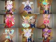 Aikatsu Stars! Star premium rare coords!!!